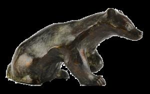 Blaireau en bronze RH