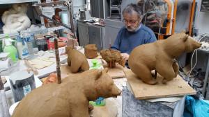 2016 travail dans l'atelier